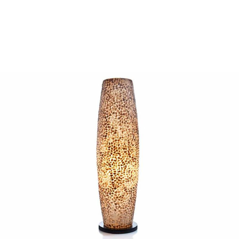 VillaFlor Vloerlamp schelp Wangi Gold Apollo 70 cm