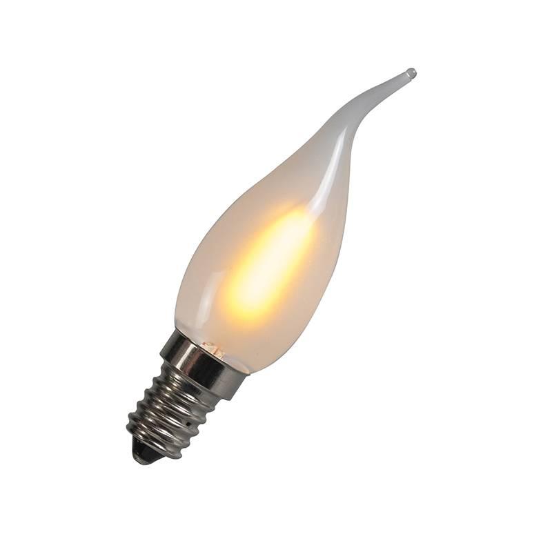 Lamponline LED E14 tipkaars mat 1 Watt filament