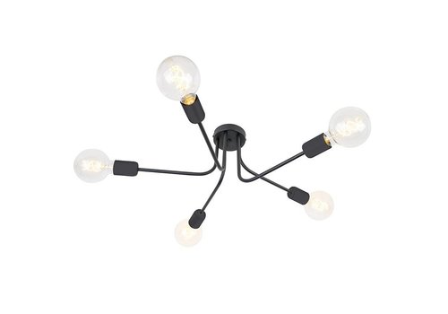 Qazqa Plafondlamp Facile 5 lichts