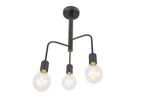 Qazqa Plafondlamp Facile 3 lichts