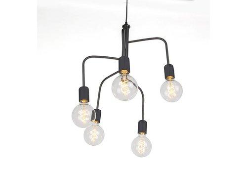 Qazqa Hanglamp Facile 5 lichts