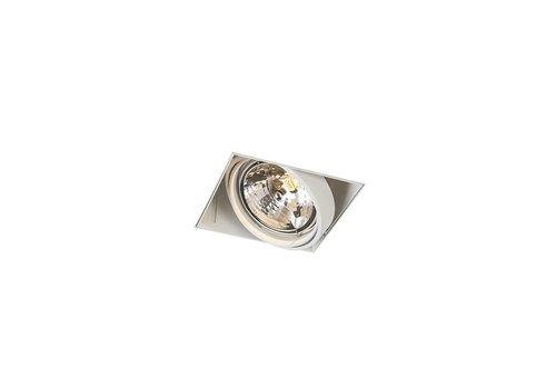 Lamponline Inbouwspot Bado 1 lichts AR111 wit Trimless