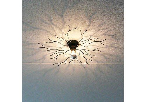 i-Lumen Plafondlamp Bichero klein zwart