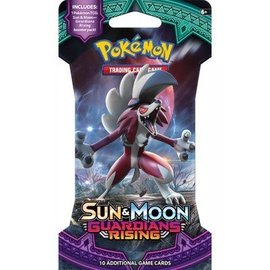 The Pokemon Company Pokemon sleeved booster Sun & Moon Guardians Rising