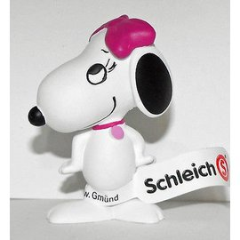 Schleich Peanuts Belle happy