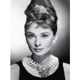 Tushita Notebook A5 Audrey Hepburn b/w