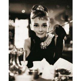 Tushita Notebook A5 Audrey Hepburn sepia