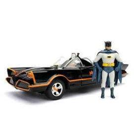 Jada Toys Classic TV Batmobile 1:24