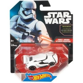 Mattel Hot Wheels Star Wars model car Stormtrooper