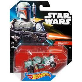 Mattel Hot Wheels Star Wars Modellauto Boba Fett