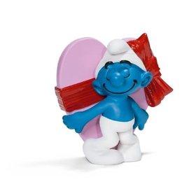 Schleich Smurf Valentine