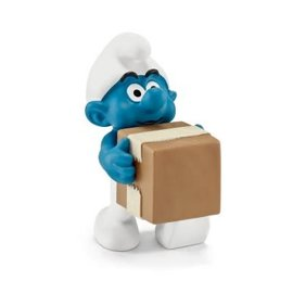 Schleich Office Smurf Logistics