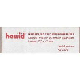 Hawid 157 x 47 mm glashelder