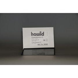 Hawid A5 insteekkaarten 5 stroken - 30 stuks