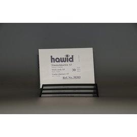 Hawid A5 insteekkaarten 3 stroken - 30 stuks