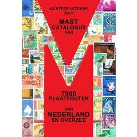 Mast catalogus van 7900 Nederlandse plaatfouten