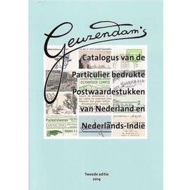 Geuzendam Catalogus van de Particulier bedrukte Postwaardestukken van Nederland en Nederlands-Indie