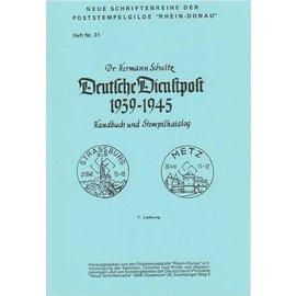 Poststempelgilde Deutsche Dienstpost Niederlande 1939-1945