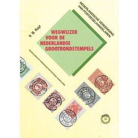 NVPH Nederland grootrondstempels 1992