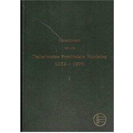 NVMH Nederlandse Provinciale Muntslag Volume 1 1573-1806