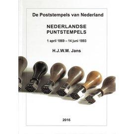 Po & Po Nederlandse Puntstempels 1 april 1869 - 14 juni 1893