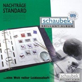 Schaubek ST album pages Netherlands sheetlets 2005-2009