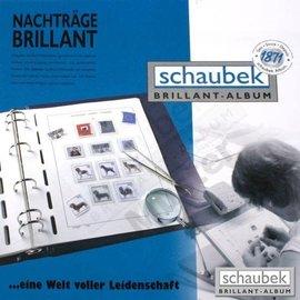 Schaubek pre-printed album pages Dutch Antilles