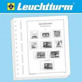 Leuchtturm album pages N Federal Republic of Germany 2000-2004