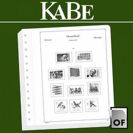 Kabe Text OF Deutschland BRD 1960-1969