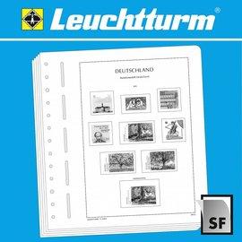 Leuchtturm album pages SF Old German States nur Bavaria 1849-1920