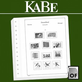 Kabe OF Germany stamp booklets 2016