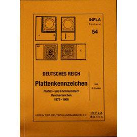 Infla Plaat- & Etsingnummers Deutschland 1872-1900