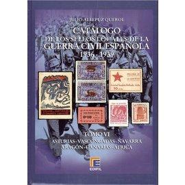 Edifil Tomo VI Catálogo de la Guerra Civil Española 1936-1939 Varios II
