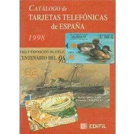 Edifil Catálogo De Tarjetas Telefónicas España 2000