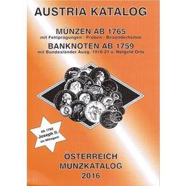 ANK Österreich Münzkatalog 2016