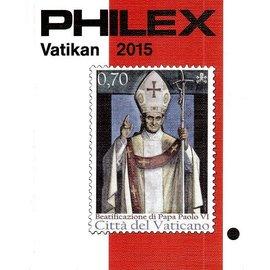 Philex Vatikan mit Kirchenstaat 2015