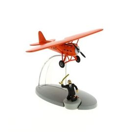 moulinsart Tim und Struppi rotes Flugzeug von Müller