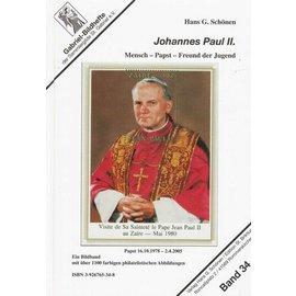Schönen Paus Johannes Paulus II on Stamps