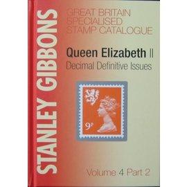 Gibbons Great Britain Volume 4 Part 2 Queen Elizabeth Decimal Definitive Issues