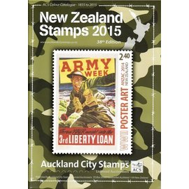 ACS New Zealand Stamps Year 2015