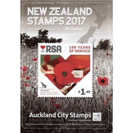 ACS New Zealand Stamps Year 2017