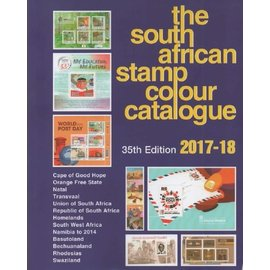 SACC The South African Stamp Colour Catalogue 2017-18