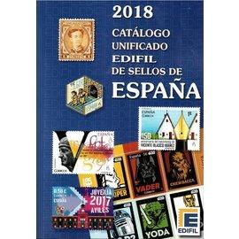 Edifil 2018 Catálogo unificado de sellos de España