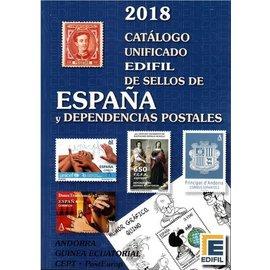Edifil Catálogo unificado de sellos de España y Dependencias Postales 2018
