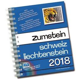 Zumstein Schweiz & Liechtenstein 2018 Spiralbindung