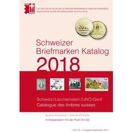 SBK Schweizer Briefmarken Katalog 2018