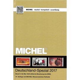 Michel Deutschland-Spezial 2017 Band 2: Ab Mai 1945 (Alliierte Besetzung bis BRD)