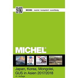 Michel 9.2 Japan, Korea, Mongolei, GUS in Asien 2017
