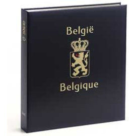 Davo Luxury album Belgium stamp booklets I 1969-2017