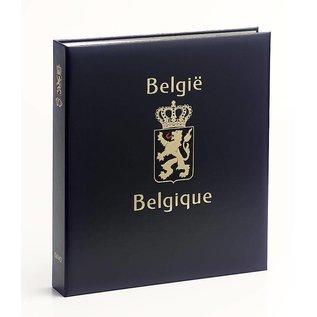 Davo Luxus Album Belgien ohne Nr. Eisenbahnmarken, Luftpost usw.